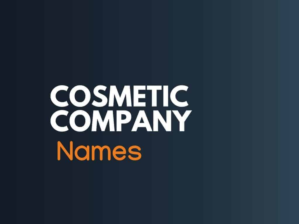 how to create a makeup business name