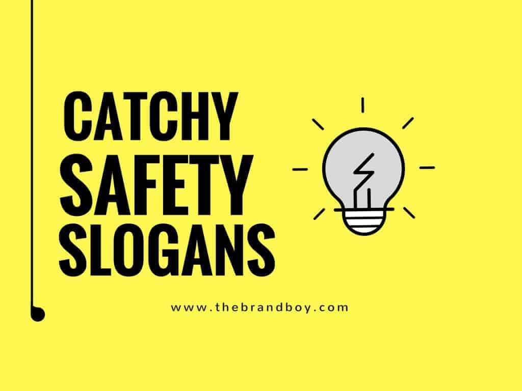 107 Most Catchy Safety Slogans For Workplace Infographic